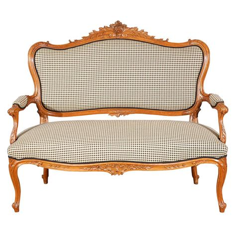 canap style vintage antique lxv style canape at 1stdibs