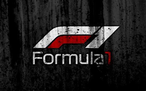 nouveau logo f1 wallpapers formula 1 4k new logo grunge f1 black backgroud formula 1 logo sport