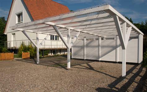 Carport Neben Garage by Schnell Gebaut Und G 252 Nstiger Als Die Garage Baus 228 Tze