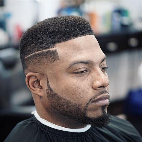 top taper fade haircut  men high   temple