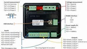 Sdmo Apm303 Digital Control Panel  Retrofit Kit