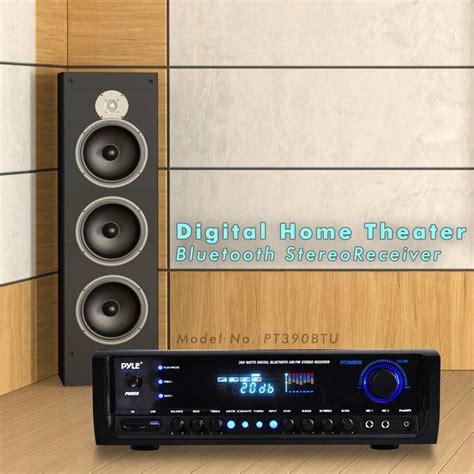 digital radio receiver test new pyle pt390btu 300w digital bluetooth receiver aux mp3 usb sd am fm 68888759496 ebay