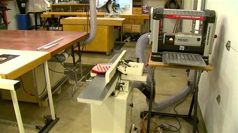 woodworking shop dust collection youtube