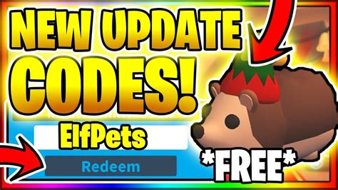 When different gamers try and make cash at some stage in the game, those codes make it smooth for you and you may attain what you want in advance with leaving others your behind. ALL *NEW* SECRET OP WORKING FREE ELF PET CODES! Roblox Adopt Me 😱ELF PETS UPDATE!😱 - YouTube