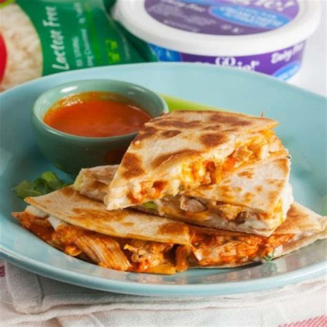 Buffalo Chicken Quesadillas  Go Veggie®