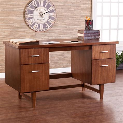 mid century office desk trends on a budget midcentury modern officefurniture com