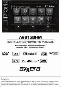 Axxera Av615bhm Installation And Users Guide 1003451 User Manual
