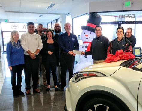 Koons Toyota Easton by Koons Toyota Of Easton Donates To Benedictine S Annual