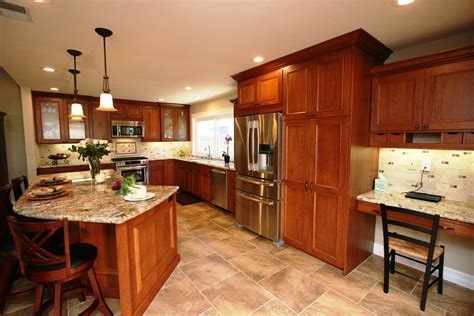 what color countertops go with white cabinets kitchen paint colors with cherry cabinets what color