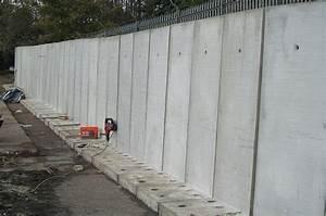 Mur En Béton : mur en pr fabriqu comment le construire ~ Melissatoandfro.com Idées de Décoration