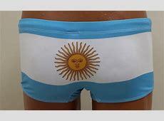 MEN'S ARGENTINA FLAG SWIM BRIEFS ARGENTINIAN BANDIERA