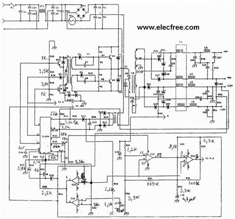 5 pc power supply circuit for you eleccircuit
