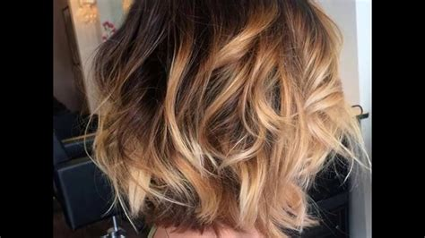 Balayage Hair Color Ideas With Blonde And Caramel