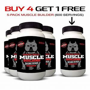 Muscle Building Supplement For Bullies  120 Tablets  Help Build Muscle On Dogs  Safe And