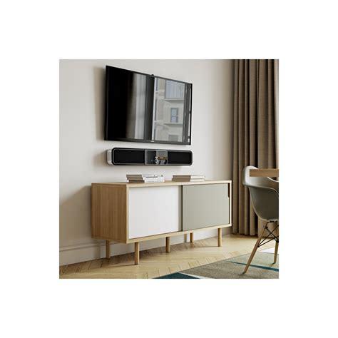 Meuble Tv Gris Et Blanc Meuble Tv Danois Blanc Et Gris Arne Concept