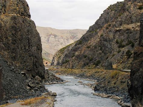 Wind River Canyon opens after rock fall   Wyoming News ...