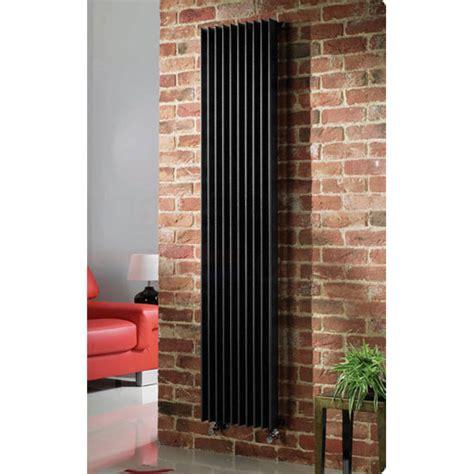 quinn adagio single column radiator vertical black