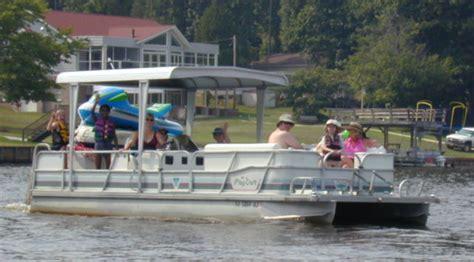Lake Chlain Motor Boat Rentals by Pontoon Boat