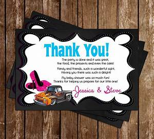 Diaper Invite Template Novel Concept Designs Wheels Or Heels Gender Reveal