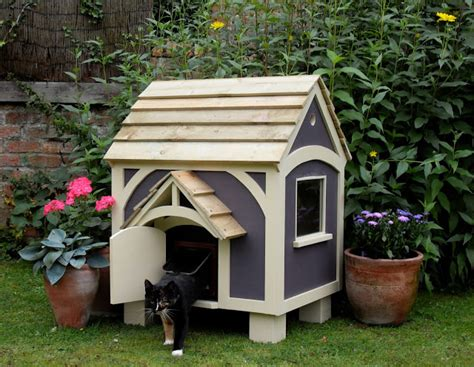 Outdoor Cat House Contemporary Outdoor Cat House
