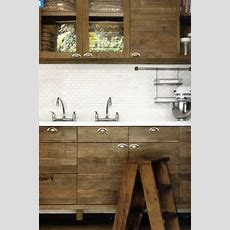 Raw  Unpainted Wood Cabinets  Kitchen Remodel
