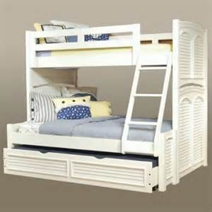 cottage traditions twin over full bunk bed eggshell