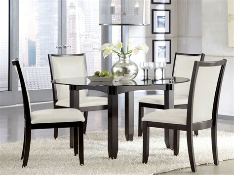 circle dining table set pub kitchen tables and chairs round glass dining table