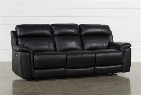 black leather reclining loveseat dino black leather power reclining sofa w power headrest