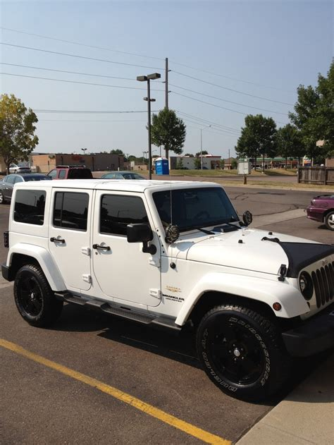white and black jeep wrangler 2012 jeep wrangler unlimited sahara black on white jeeps