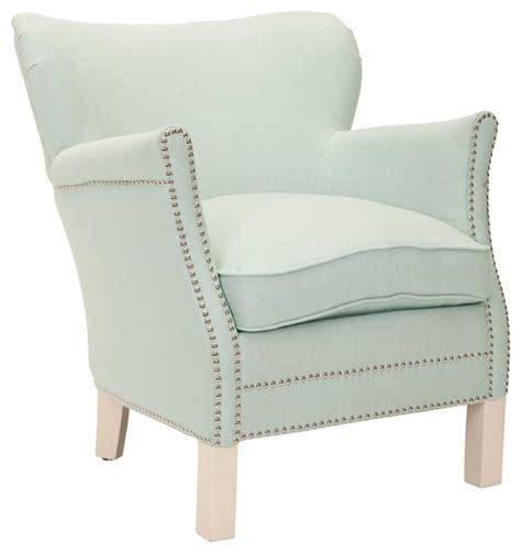 safavieh arm chair robins egg blue transitional