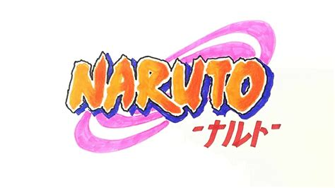 How To Draw The Naruto Logo