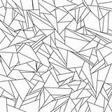 Coloring Pages Abstract Pattern Printable Tessellation Glass Broken Adults Tessellations Sheets Letscolorit Nature sketch template
