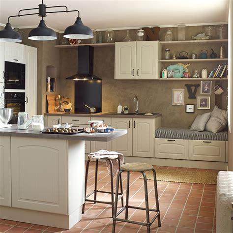 leroy merlin peinture meuble cuisine meuble de cuisine chanvre delinia olé leroy merlin