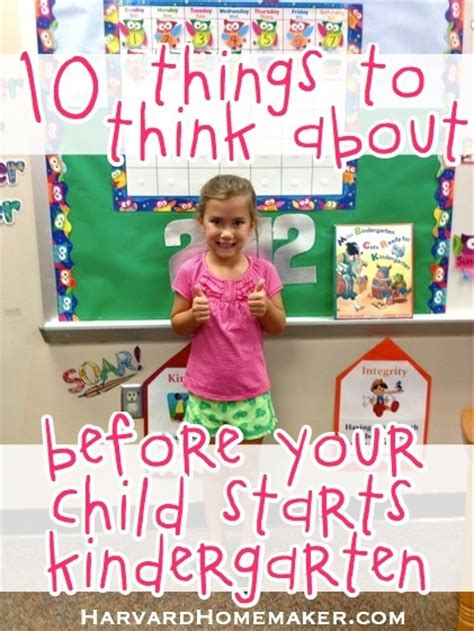 10 things to think about before your child starts 691   kindergartentipsthingstothinkabout 40214 l