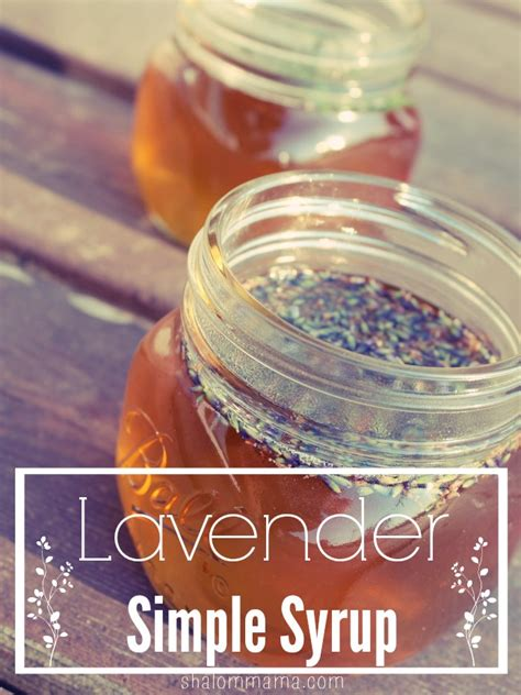 lavender simple syrup homemade lavender simple syrup tiny apothecary