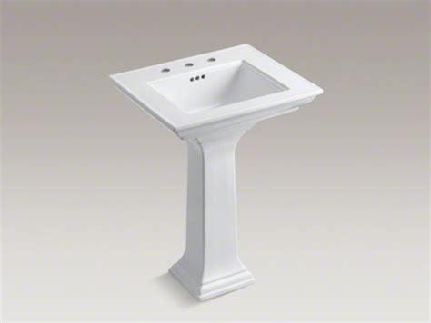 memoirs pedestal sink kohler kohler memoirs r stately 24 quot pedestal bathroom sink with