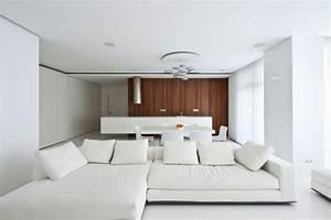 Moderne Eckcouch : 38 ideen f r wei es wohnzimmer wohnideen mit reinheit ~ Pilothousefishingboats.com Haus und Dekorationen