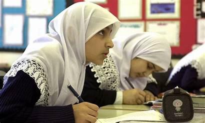 Muslim Schools Muslims British American Children Students