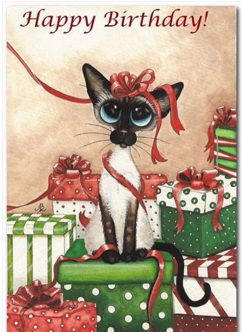 skinny kitty happy birthday pictures   images