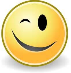 Wink Smiley Face Clip Art