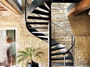 Escalier En Colimaon Caractristiques Et Prix Ooreka