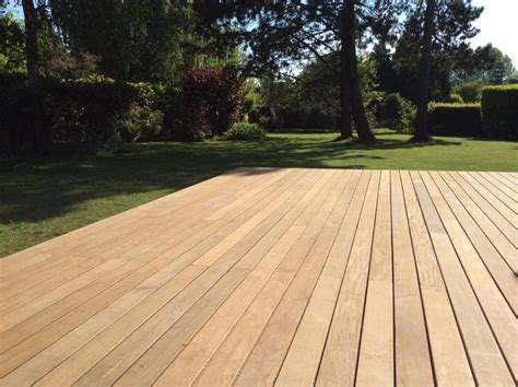 bois ipe pour terrasse terrasse en bois exotique ip 233 galaxy jardin