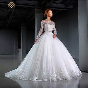 best wedding dresses for brides aliexpress buy new arrival princess gown sleeves wedding dresses lace