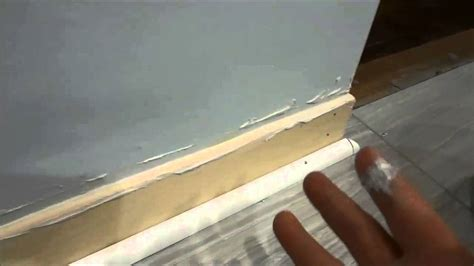 how to fix gap between ceiling and kitchen crown molding how to fill in the gap between the wall and baseboard