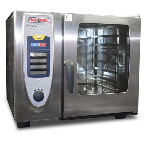 Rational Scc 61 Secondhand Catering Equipment Electric Ovens 6 Grid Rational Scc 61 Electric 6 Grid Combi