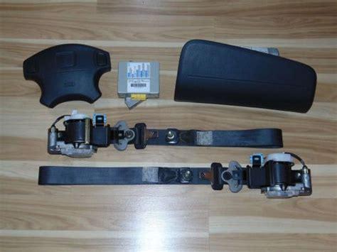 airbag deployment 1985 subaru brat engine control purchase 1999 2001 honda crv cr v air bags airbags seatbelts module complete set 99 00 01