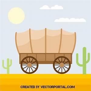 Covered wagon - Download at Vectorportal