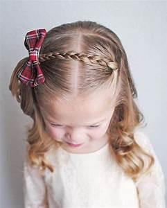 Coiffure Facile Pour Petite Fille : coiffure facile pour petite fille tresse noeud papillon cheveux masculins ~ Nature-et-papiers.com Idées de Décoration