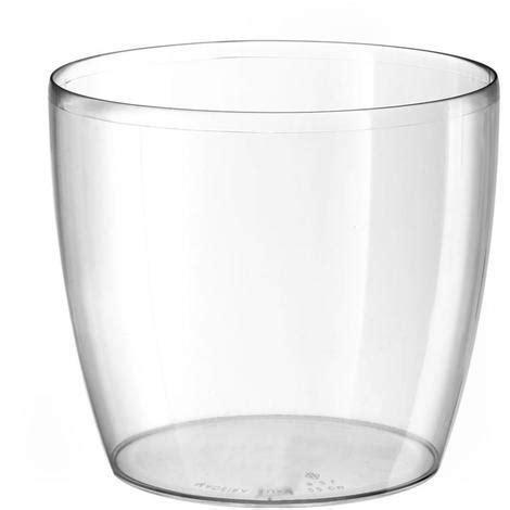 orchidea vaso trasparente vaso vasi vasetto trasparente resina per orchidee diam 14