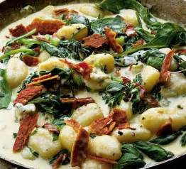 Two Cheeses with Bacon & Gnocchi